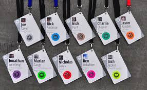 Event Badge Template F8 Conference Badges Fonts In Use