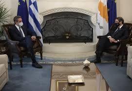 Güney Kıbrıs Rum Kesimi'ne ziyarette bulunan Yunanistan Başbakanı Miçotakis  sınırı aştı - Dünya Haberleri