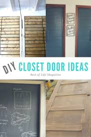 diy closet doors can transform a room there are so many fun ideas for every