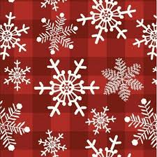 Christmas Snowflakes Pictures Christmas Holiday Snowflake Gingham Snowflakes Red Plaid Cotton Fabric