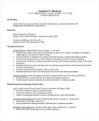 Bilingual Teacher Resume