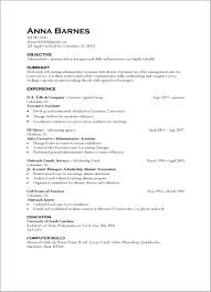 Example Resumes Skills Resume Skills And Abilities Examples For The