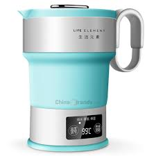 LIFE ELEMENT I4 <b>Folding Compression Electric</b> Mini Insulation <b>Kettle</b>