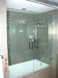 aqua glass shower glass tub enclosure throughout aqua glass shower installation instructions