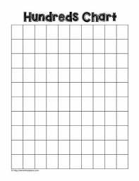 Blank 100 Chart Printable 100 Chart Blank Worksheets