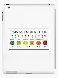 Medical Pain Assessment Tool Chart Ipad Case Skin By Allhistory