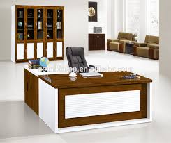 curved office desk. wooden office desk set, curved desk, table with side
