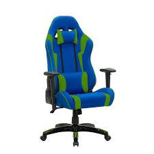 Corliving Blue and <b>Green High Back</b> Ergonomic Gaming <b>Chair</b> | The ...