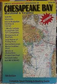 Chesapeake Bay Chart Book Vintage 1989 Adcs Waterproof Chartbook Of The Chesapeake