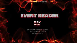 Event Flier Event Flier Copy Template Postermywall