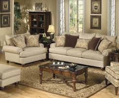 Craftmaster 7970 Traditional Sofa with Exposed Wood Feet Turk