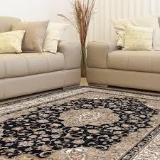 home dynamix bazaar trim black ivory 5 ft x 7 ft indoor area