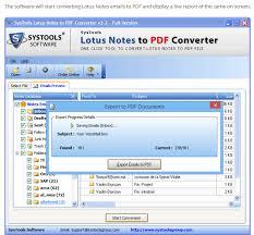 Export Lotus Notes To Pdf Nsf To Pdf Documents