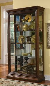 Furniture Luxury Curio Cabinets For Chic Home Furniture Ideas
