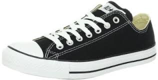 converse low tops. amazon.com: converse chuck taylor all star shoes (m9166) low top in black: tops