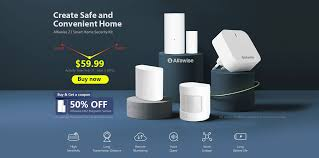 [50% OFF] <b>Alfawise Z1 Smart</b> Security Kit For Just $39.99