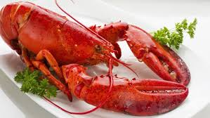 cooked lobsters. Simple Lobsters FISH And Cooked Lobsters
