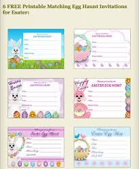 easter egg hunt template free printable easter egg hunt invitations at my free printable