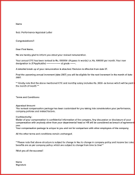 Unique Appraisal Letter For Employee Sample Excuse Letter