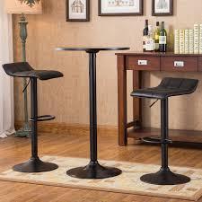 yoder 3 piece round pub table set