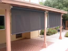 custom patio blinds. Roll Down Patio Shades | AAA Sun Control Custom Blinds R