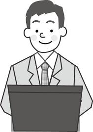 仕事ビジネスのイラスト挿絵無料イラストフリー素材1