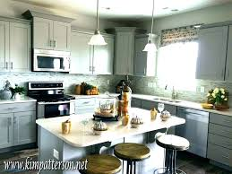 gray kitchen white cabinets gray kitchen white cabinets blue grey medium size of off cabinet paint