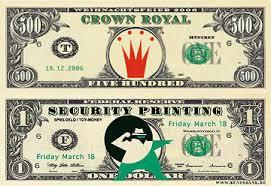 Die geldscheine werden direkt ausgeschnitten, die münzen schneiden sie noch nicht rund aus, sondern lediglich die gestrichelten linien rundherum. Individuelle Dollars Von Buntebank Reproduktionen Spielgeld Dollar Gutscheine