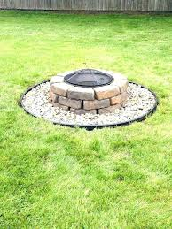 building a fire pit with pavers how to build a fire pit patio with fire pit