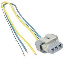 amazon com ford 2g 3g 4g alternator harness voltage regulator amazon com ford 2g 3g 4g alternator harness voltage regulator connector plug 3 wire pigtail automotive
