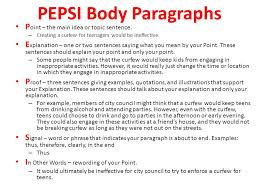 how to write an a sol essay ppt video online 6 pepsi