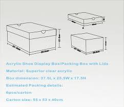 shoe box dimensions. Unique Shoe Shoebox Size In Shoe Box Dimensions O