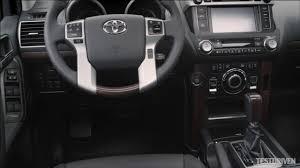New Toyota Land Cruiser Interior - YouTube