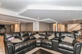 basement remodeling chicago. Image Of A Completed Basement Remodeling Project In The Chicago Suburbs