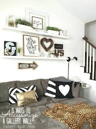 gallery decoration ideas living room wall ideas 6 ways to intended for wall decor living