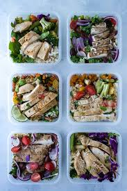 Batch Cooking Basics Healthy Eating Meal Prep Plan
