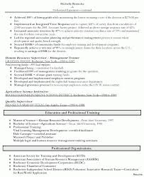 Sample Human Resources Generalist Resume Tomyumtumweb Com