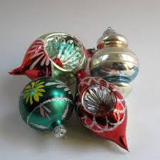 Glass Balls For Decoration Vintage Christmas Ornaments Glass Balls 100's Hand painted 51