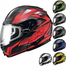 Gmax Gm64s Modular Carbide Snowmobile Helmets