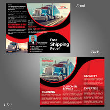 Hours Of Operation Design Modern Professional Truckline Operation Flyer Design For