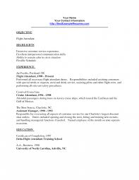 Flight Attendant Resume Objective Wonderful Flight Attendant Resume Do My Essay For Me Custom Writing 11