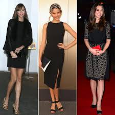 Lbd Lookbook 31 Celebrities The Wearing Little Black Dress