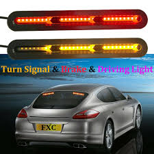 Licence Plate Led Light Bar Details About Autos Car Truck Drl Led Light Bar Brake Flowing Turn Signal Stop Rear Tail Strip