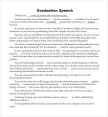 Graduation Speech Examples Mesmerizing Help With Writing A Graduation Speech Examples Of A Graduation Speech