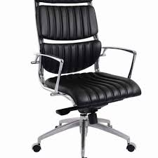 office furniture legs. stylish black modern rolling office chair with high backrest and polished chrome frame also leather covered furniture legs p