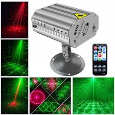 Us 23 24 20 Off Led Laser Light With Red Green Led Stage Lighting Projector By Ir Remote Control Sound Activated For Disco Party Ktv Dancing In