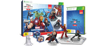 infinity 360. the disney infinity 2.0: marvel super heroes video game starter pack includes: 360