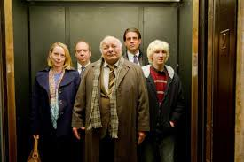 people standing in elevator. people-in-elevator people standing in elevator s