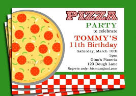 Pizza Party Invitation Templates Awesome Party Invitation Templates Birthday Parties For Kids Luxury
