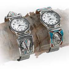 mens sterling silver and turquoise watches wild wings mens sterling silver and turquoise watches